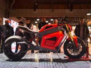 Moto elétrica finlandesa com motor na roda traseira já pode ser comprada