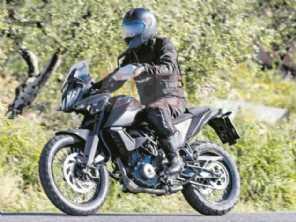 KTM prepara 390 Adventure