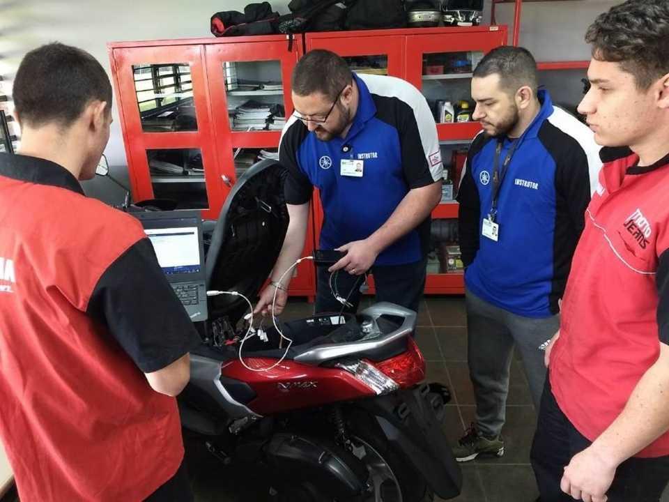 Yamaha faz parceria com Senai