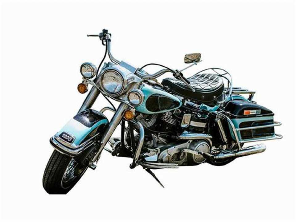 Harley-Davidson FLH 1200 Electra Glide de 1976