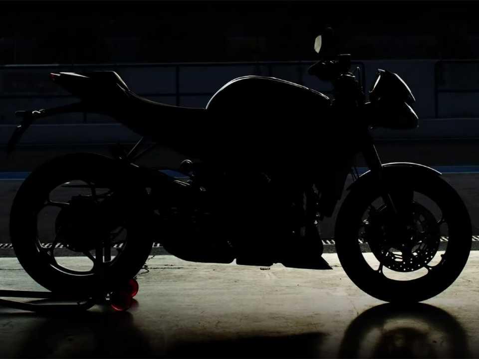 Nova Street Triple RS será apresentada no dia 7 de outubro