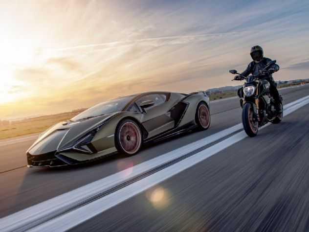 Ducati Diavel ganha série especial Lamborghini