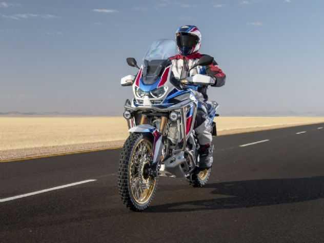 Honda revela preço da nova Africa Twin na Índia