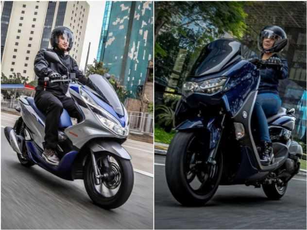PCX ou NMax? Veja qual foi o scooter que mais vendeu em fevereiro