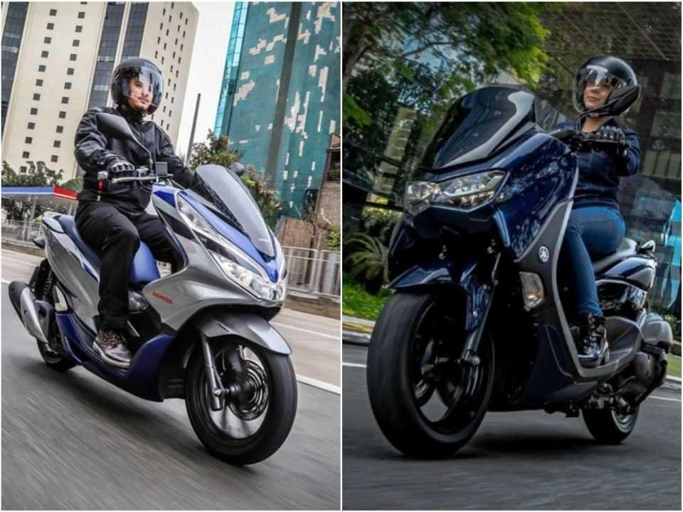 Honda PCX e Yamaha NMax de nova geração