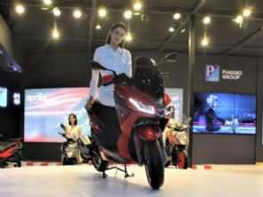 Aprillia lança a linha SXR de scooters na Índia