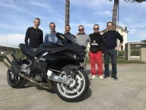 Com motor de Kawasaki, nova Bimota Tesi está próxima da produção