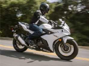 Motor 250 bicilíndrico da Suzuki receberá atualizações