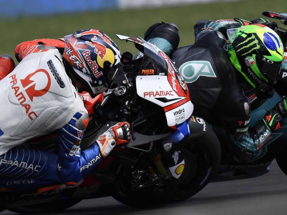 Jack Miller e Franco Morbidelli no Gran Premio Motul de la República Argentina