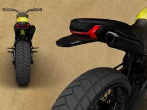 Estudante ganha prêmio da Ducati por design da Scrambler