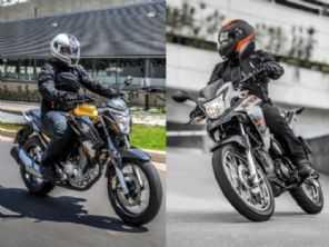 CB Twister ou XRE 190: qual moto escolher entre uma naked e uma trail?