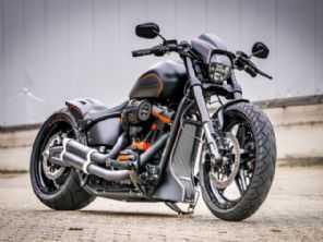 Veja como fica uma Harley FXDR customizada por alemães