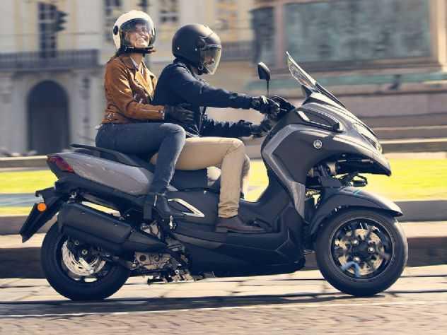 Yamaha lança mais um scooter de três rodas