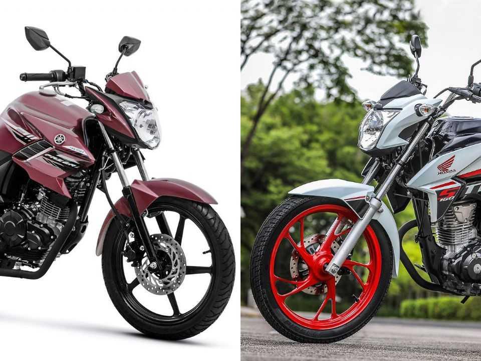 Yamaha Fazer 150 ou Honda CG 160 Titan?
