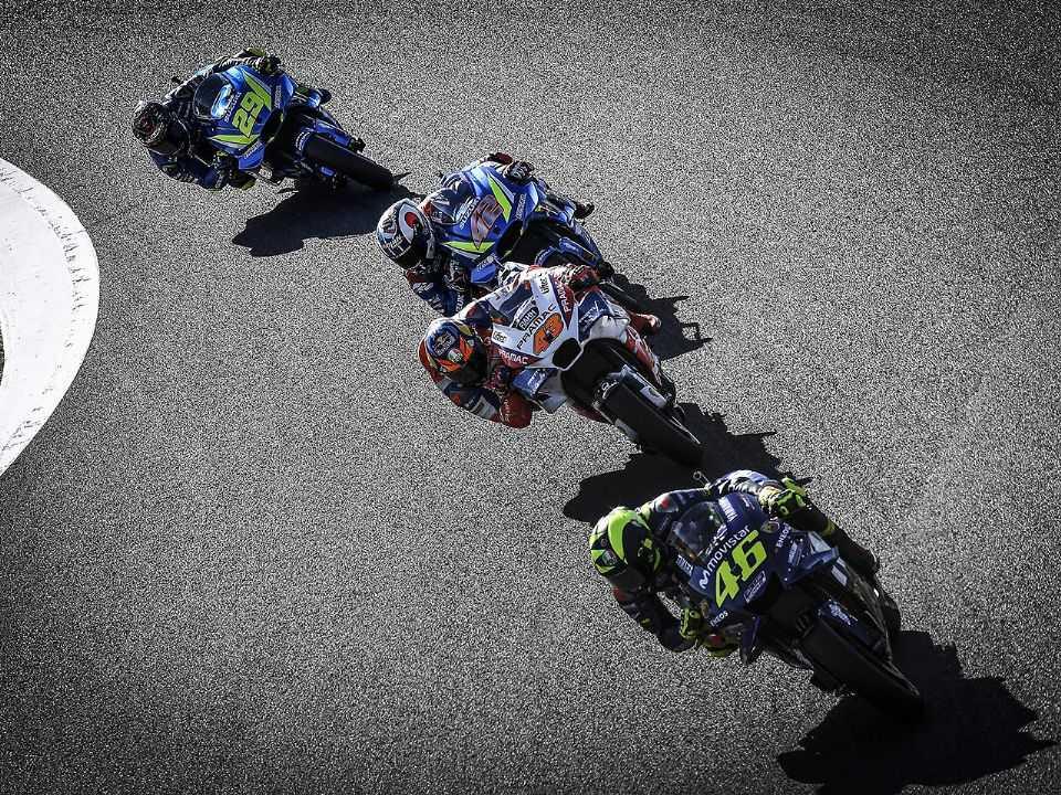 Detalhe do Grande Prêmio do Japão de MotoGP em sua etapa de 2019