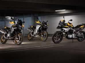 BMW lança série comemorativa de 40 anos da linha GS