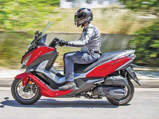 Teste: como anda a nova scooter Cruisym 150