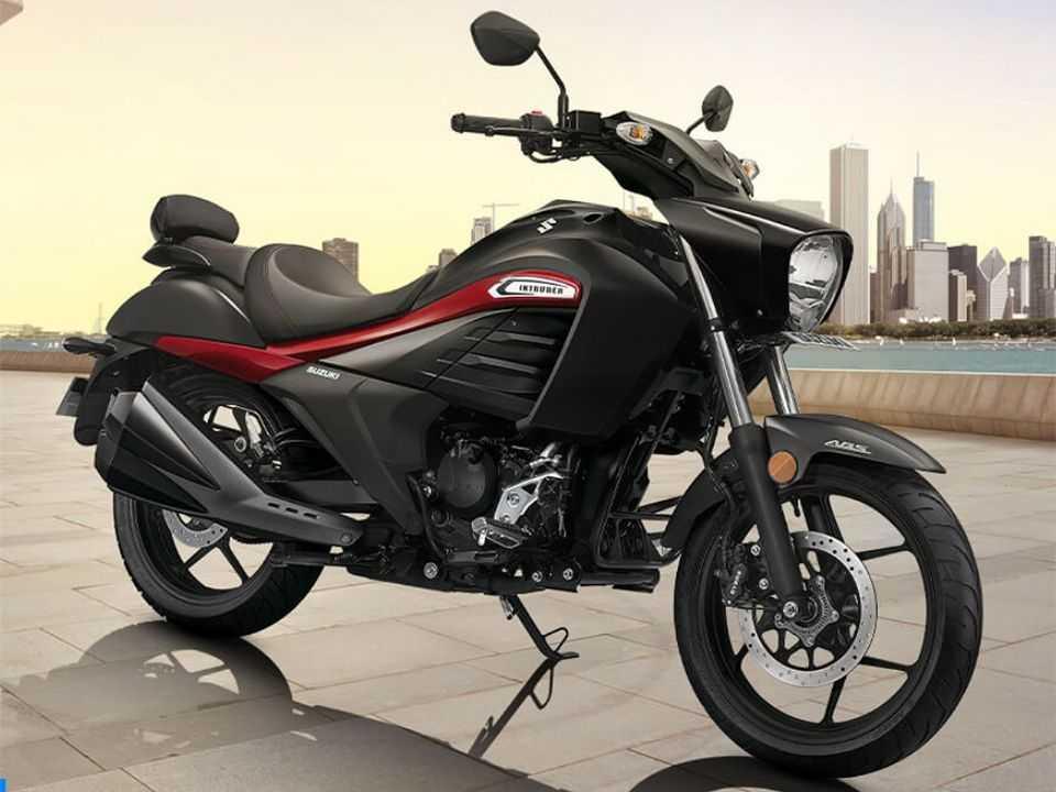 Acima a Suzuki Intruder 2020 vendida na Índia