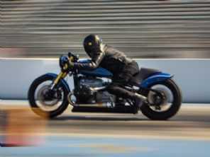 Designer transforma nova BMW R 18 em uma moto de arrancada