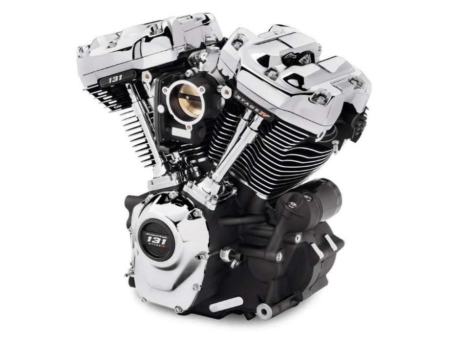 Motor ScreaminEagle 131 Stage IV crate engine Harley-Davidson para linha Softail