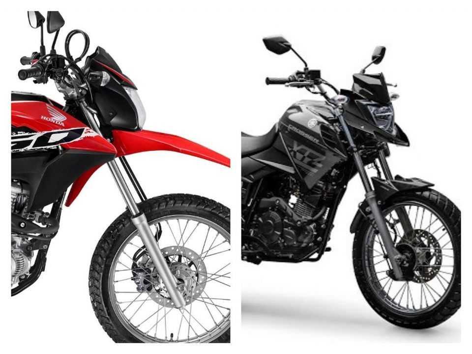 Honda Bros e Yamaha Crosser