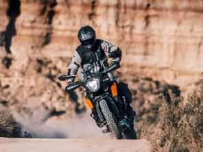 Nova KTM Adventure 250 estreia em outubro na Índia