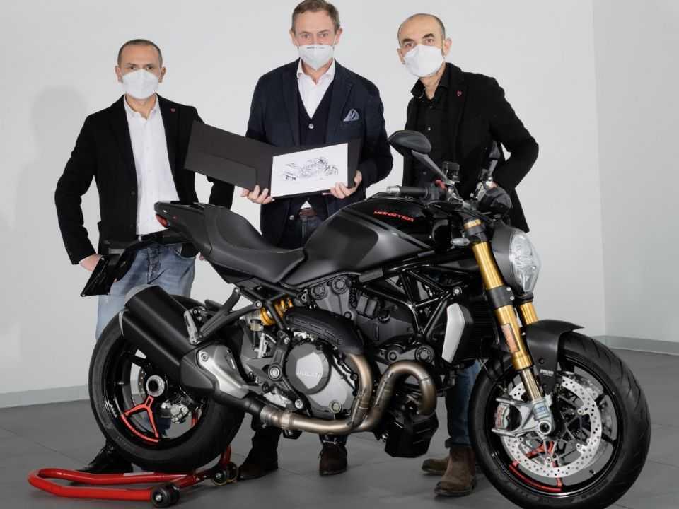 Ducati Monster nº 350 mil foi entregue na Itália