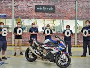 BMW atinge marca de 80 mil motos produzidas no Brasil