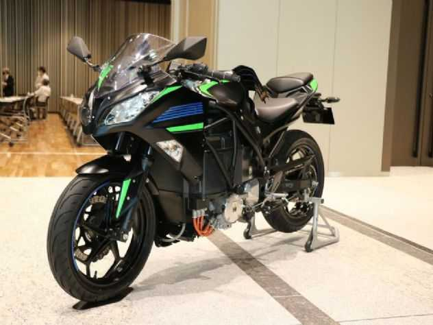 Kawasaki apresenta suas motos eletrificadas