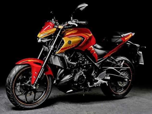 Yamaha MT-03 ganha versão 'Homem de Ferro'