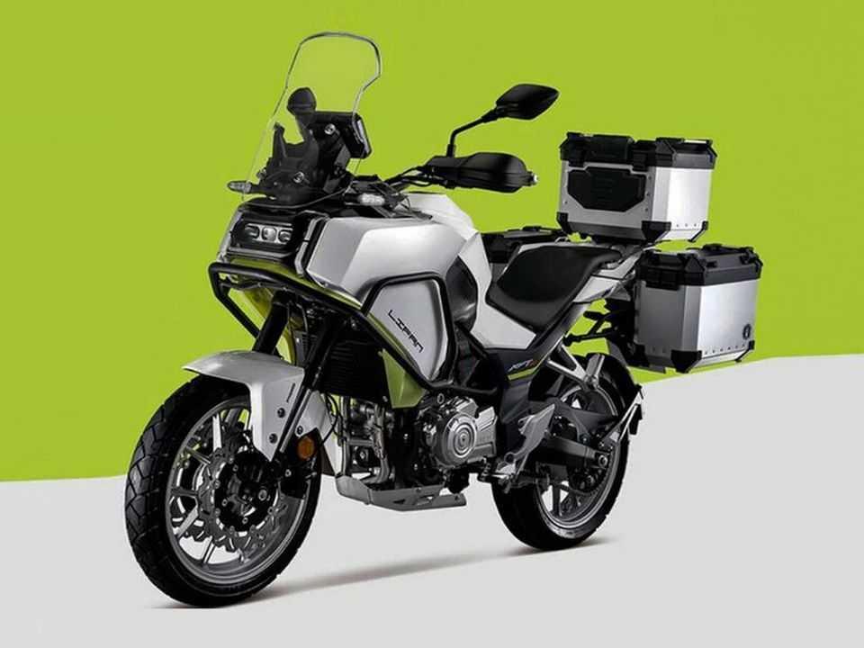 Lifan KPT 400 é quase igual ao modelo da Harley-Davidson