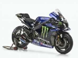 Yamaha mostra suas motos para a MotoGP 2021