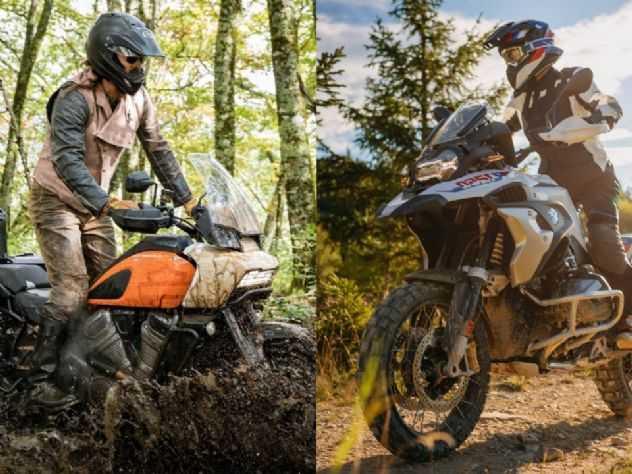 Harley Pan America ou BMW R1250GS: o que cada uma traz?