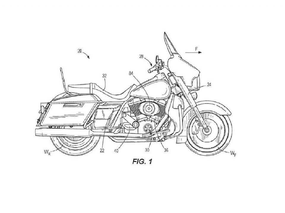 Harley-Davidson registra patente de supercharger para suas motos