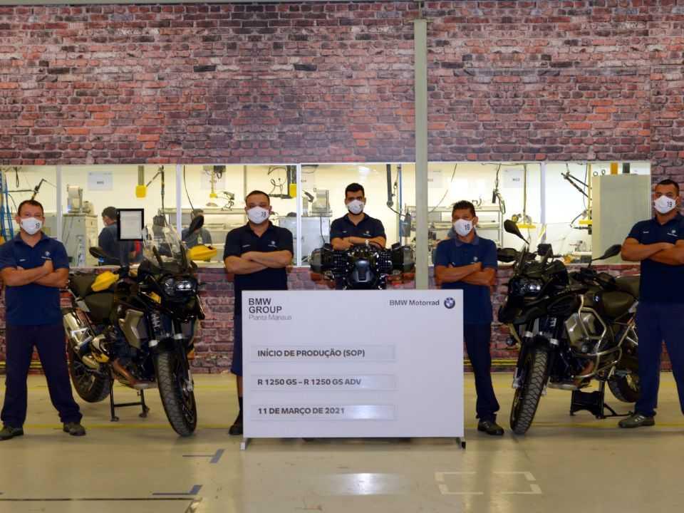 BMW inicia produção da série especial de 40 anos da linha GS em Manaus (AM)