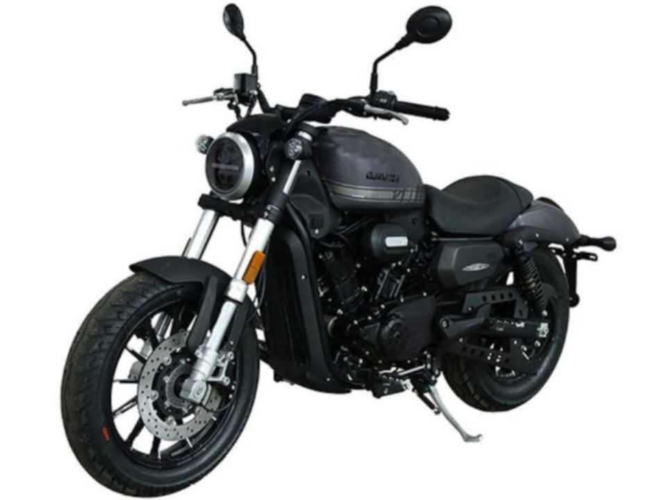 Imagem vazada da suposta Harley-Davidson SRV300