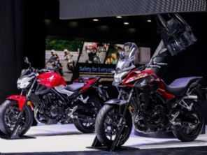 Nova Honda CB 400 é apresentada na China