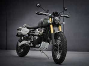 Triumph revela as novas Scrambler 1200 2021