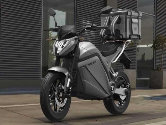 Voltz apresenta moto elétrica para entregadores