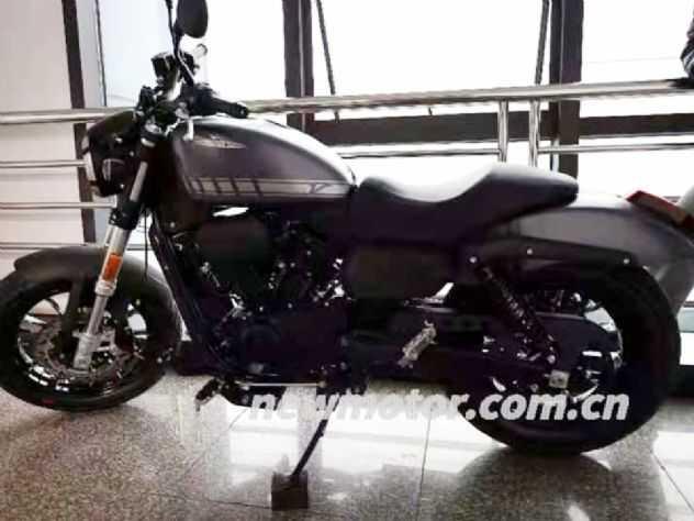 Harley ''chinesa'' mais barata é flagrada e confirma motor em V