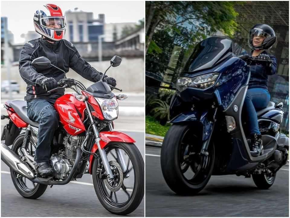 Motos e scooters trazem vantagens e desvantagens