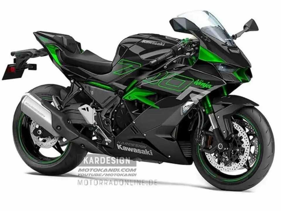Projeção da Kardesign antecipa uma possível Kawasaki Ninja 700