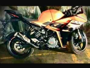 Nova esportiva da KTM, RC 390 2022 tem nova  imagem vazada