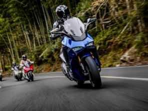 Depois de esportiva chinesa, agora scooter imita a Ducati Panigale