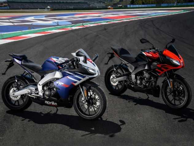 Aprilia lança as novas RS 125 e Tuono 125