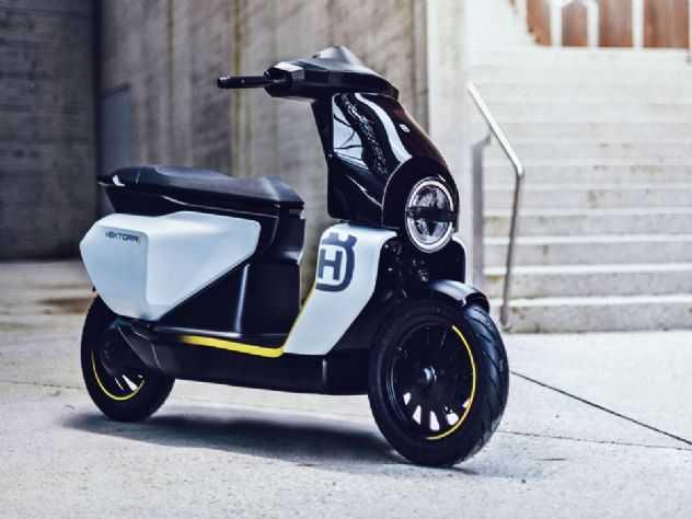 Depois da E-Pilen, Husqvarna revela sua primeira scooter elétrica