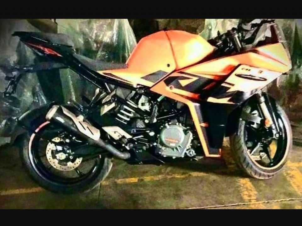 Imagem da nova KTM RC 390 2022