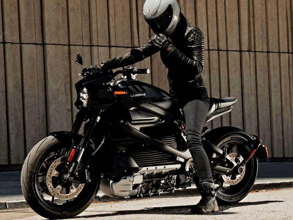 A nova marca de motos elétricas da Harley, LiveWire