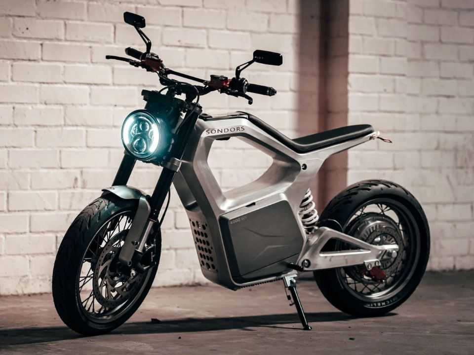 Moto elétrica Sondors Metacycle