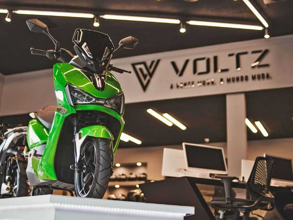 Moto elétrica da Voltz: fábrica em Manaus